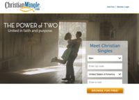 ChristianMingle Screenshot