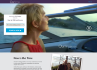 OurTime.com Screenshot